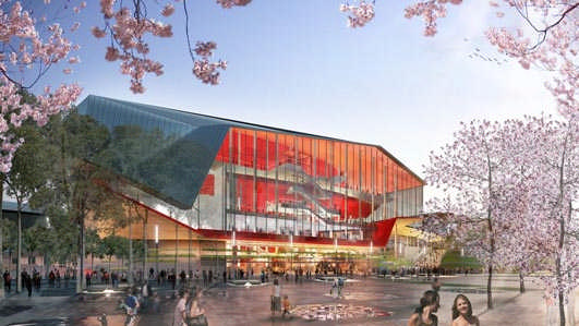 Sydney new Convention, Exhibition and Entertainment Precinct design project Sydney Building