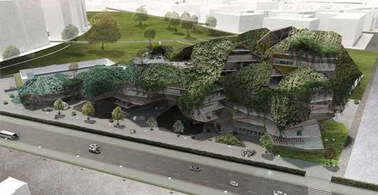 Taiwanese Competition Entry design by Kukan Architects / Kythreotis Architects
