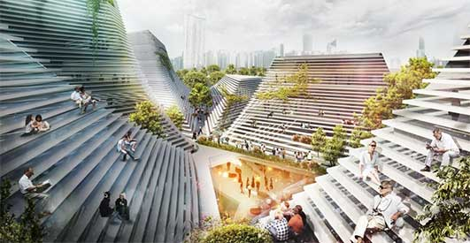 Taichung City Cultural Center - Building Designs of 2013