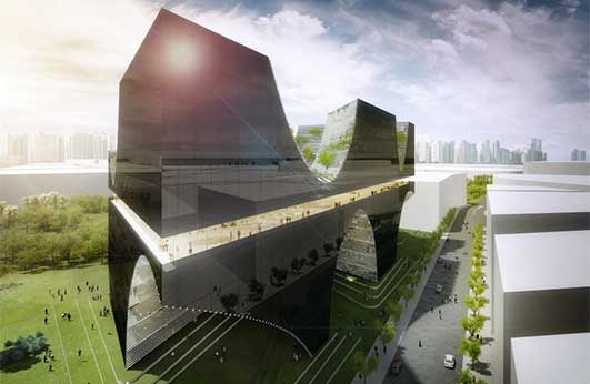 Taichung City Cultural Center Building