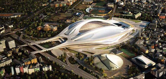 New National Stadium Tokyo - Building Designs of 2013