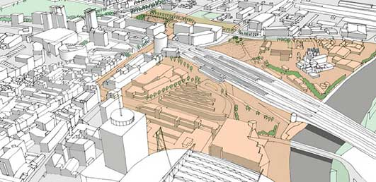 Cardiff Central Masterplan
