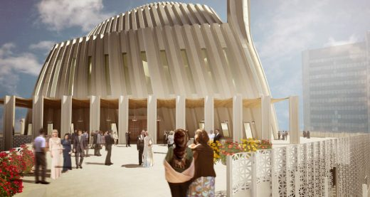 Central Mosque of Prishtina Kosovo design by SADAR+VUGA
