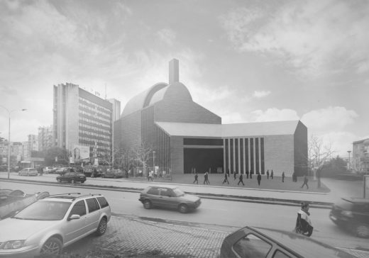 Central Mosque of Prishtina Design Kosovo design by studio MADe