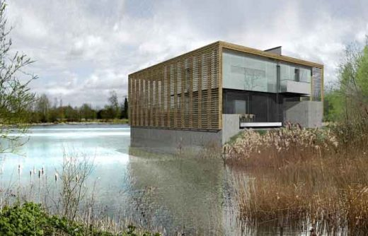 Lower Mill Estate Boathouse Oxfordshire by Sutherland Hussey