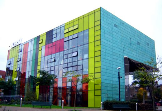 Peckham Library Building by Will Alsop