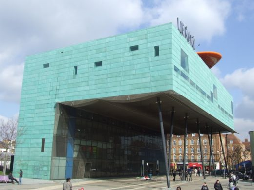 Peckham Library by architect Will Alsop