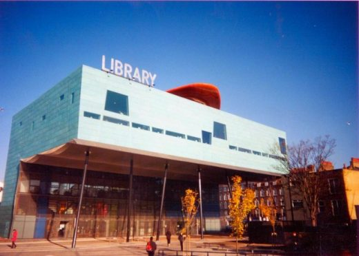Peckham Library by Will Alsop