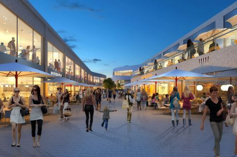 Princesshay Shopping Centre Extension in Exeter | www.e-architect.com