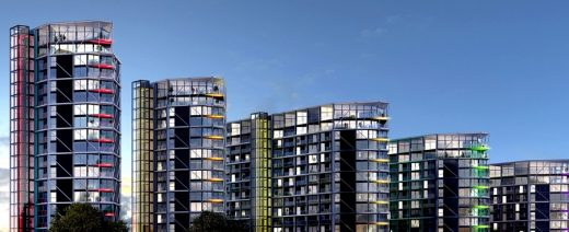 Riverlight Flats at Vauxhall Nine Elms Battersea