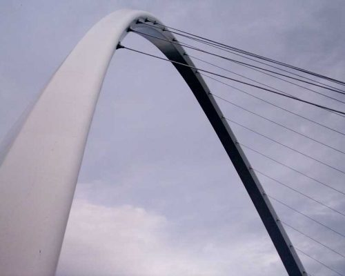 Gateshead Millennium Bridge structure