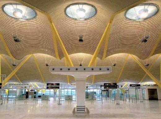 Barajas Airport Spain, Madrid Building