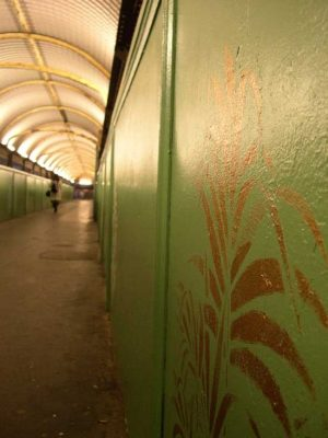 Hove Railway Station architecture art tunnel