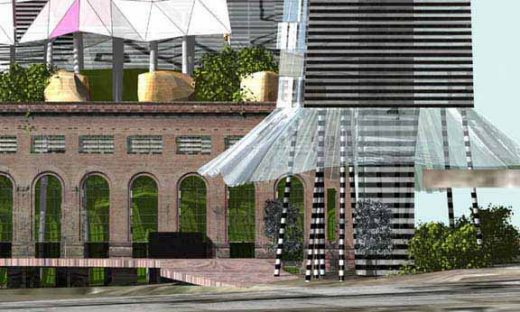 Glenwood Waterfront Yonkers Power Plant building design
