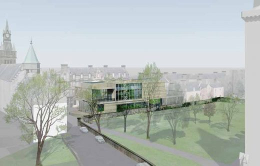 Dunfermline Museum Competition design by Malcolm Fraser Architects