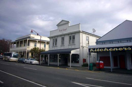 Martinborough Buildings, South Wairarapa, New Zealand