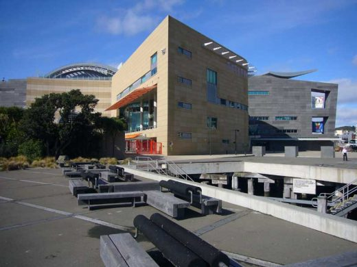 Te Papa Wellington building