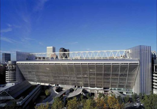 Bernabeu Stadium Real Madrid football ground