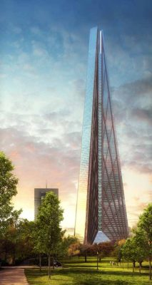 Russia Tower Moscow skyscraper Fosters design