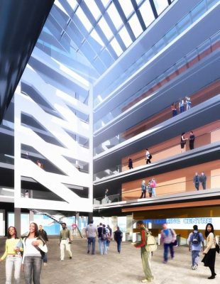 Harrow College Building London design by MJP Architects