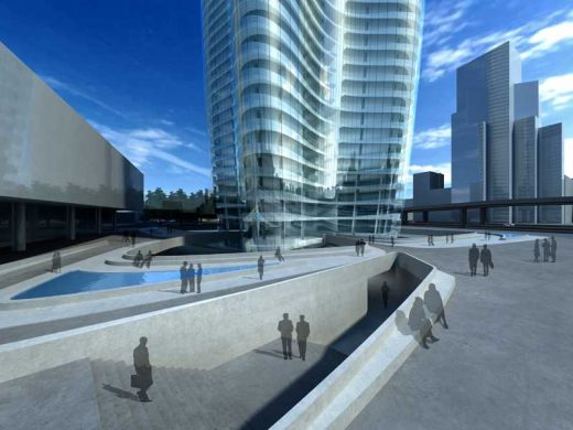 Lilium Tower Warsaw Zaha Hadid Architects Poland building