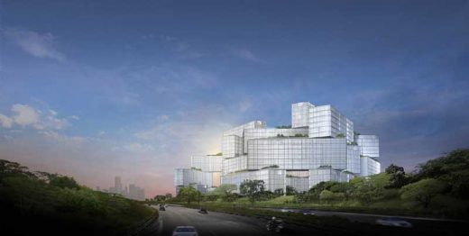 Singapore residential development OMA design