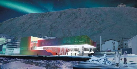 Arctic Culture Centre, Hammerfest Building by a-lab architects