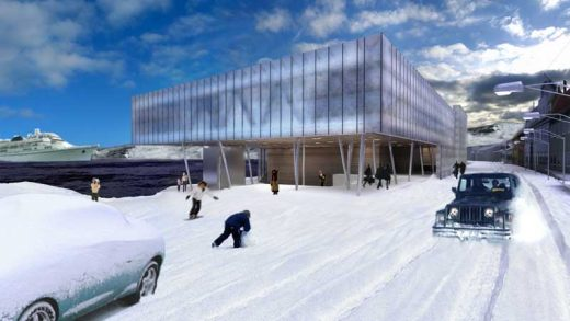 Arctic Culture Centre, Hammerfest Building, Norway