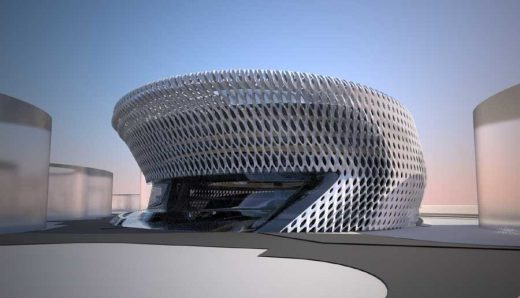 Madrid Civil Courts of Justice building design by Zaha Hadid Architect