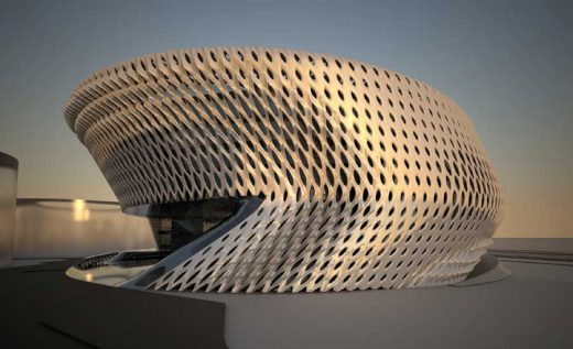 Madrid Civil Courts of Justice building by Zaha Hadid