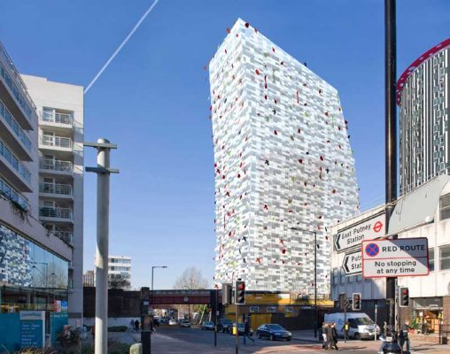 Putney Place Building in Wandsworth by Will Alsop