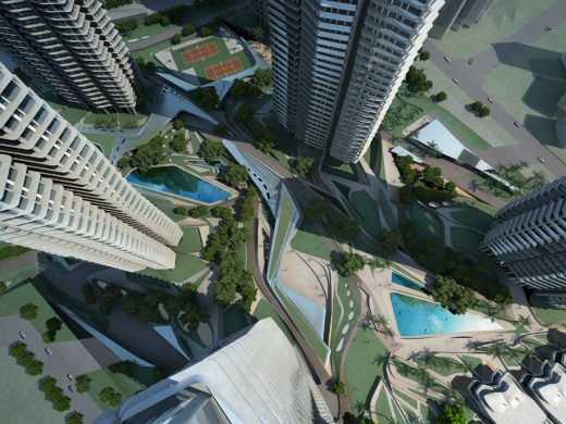 Farrer Court: Singapore Residential Towers, Zaha Hadid