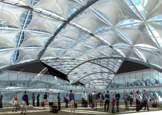 Florence High Speed Railway Station building by Foster + Partners Architects