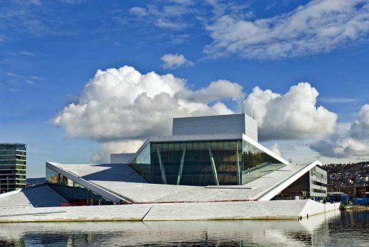 Oslo Operahouse, Norway building by Snohetta