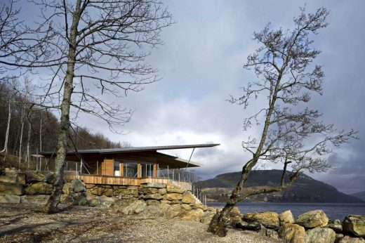 Loch Tay Boat house property