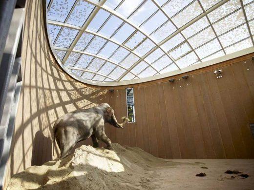 Copenhagen Zoo Elephant House building