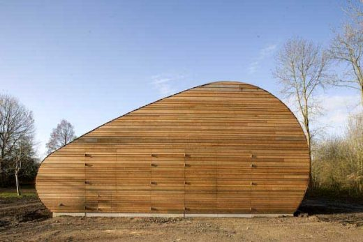 Almere Sheep Stable building Netherlands