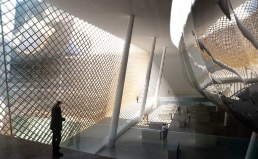 King Abdulaziz Center for Knowledge and Culture building interior
