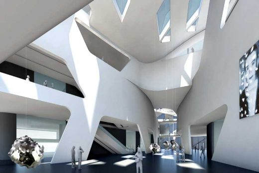 Museum of Contemporary Art Wroclaw building interior design