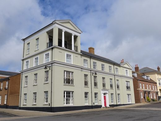 Poundbury Buildings, Dorchester, Dorset, UK