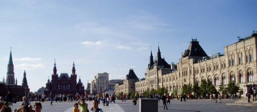 Red Square Moscow Architecture