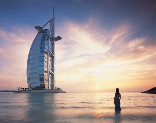 Burj al Arab Dubai building design by Atkins Architects