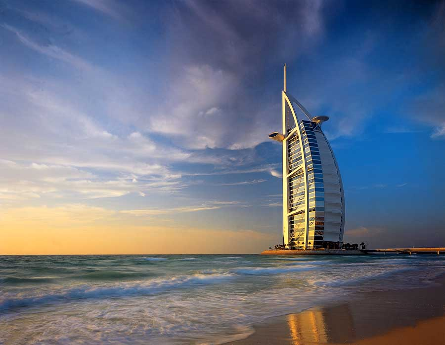 Burj al arab luxury hotel in dubai uae e architect for Luxury hotels in dubai