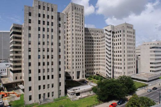 Charity Hospital New Orleans building design