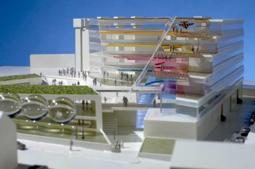 Coventry University Competition building design
