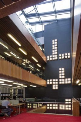 David Wilson Library, University of Leicester building interior