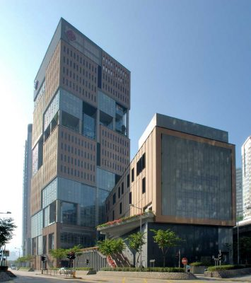 Hong Kong Community College building by AD+RG Architects