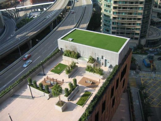 Hong Kong Community College, Hung Hom Bay Campus roof garden