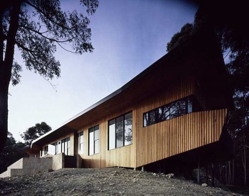 Falvey House Warburton home by BKK Architects