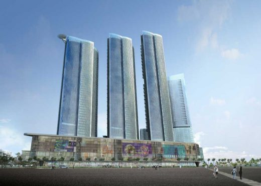 Nomas Towers Bahrain building design